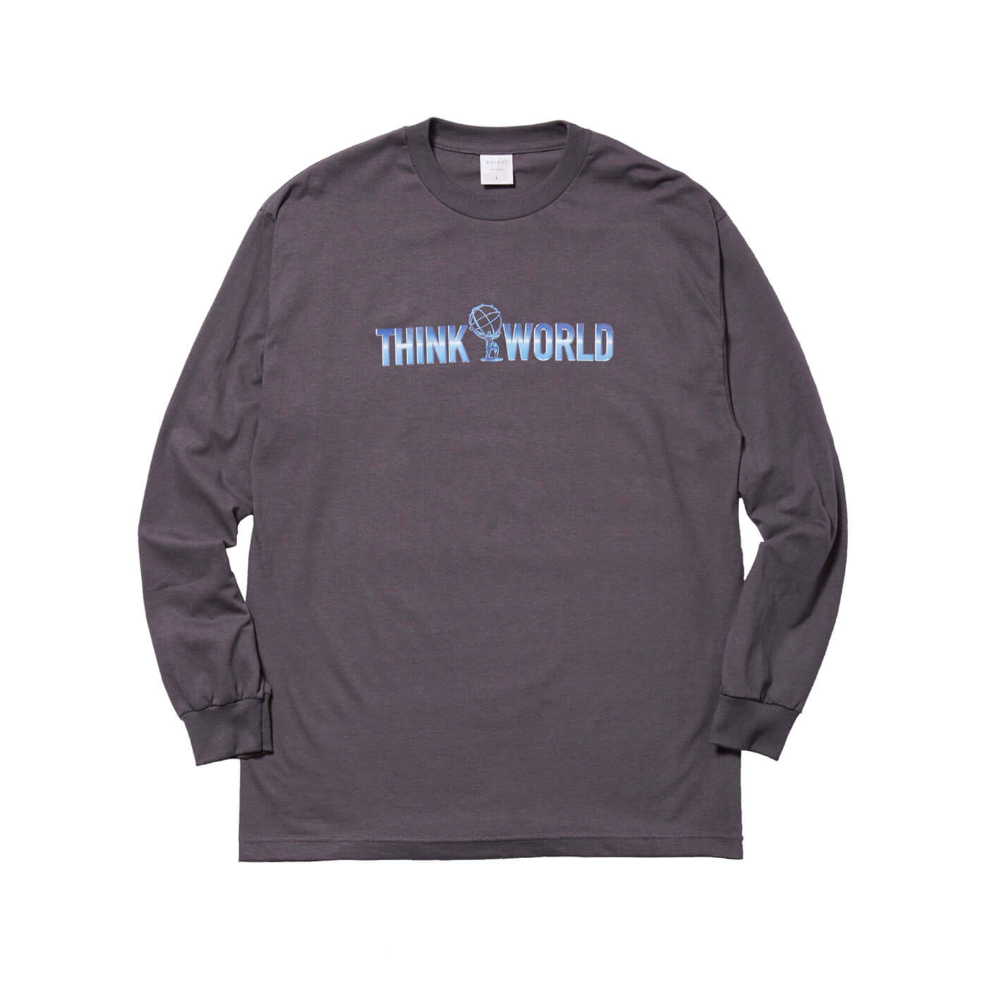 THINK WORLD L/S TEE