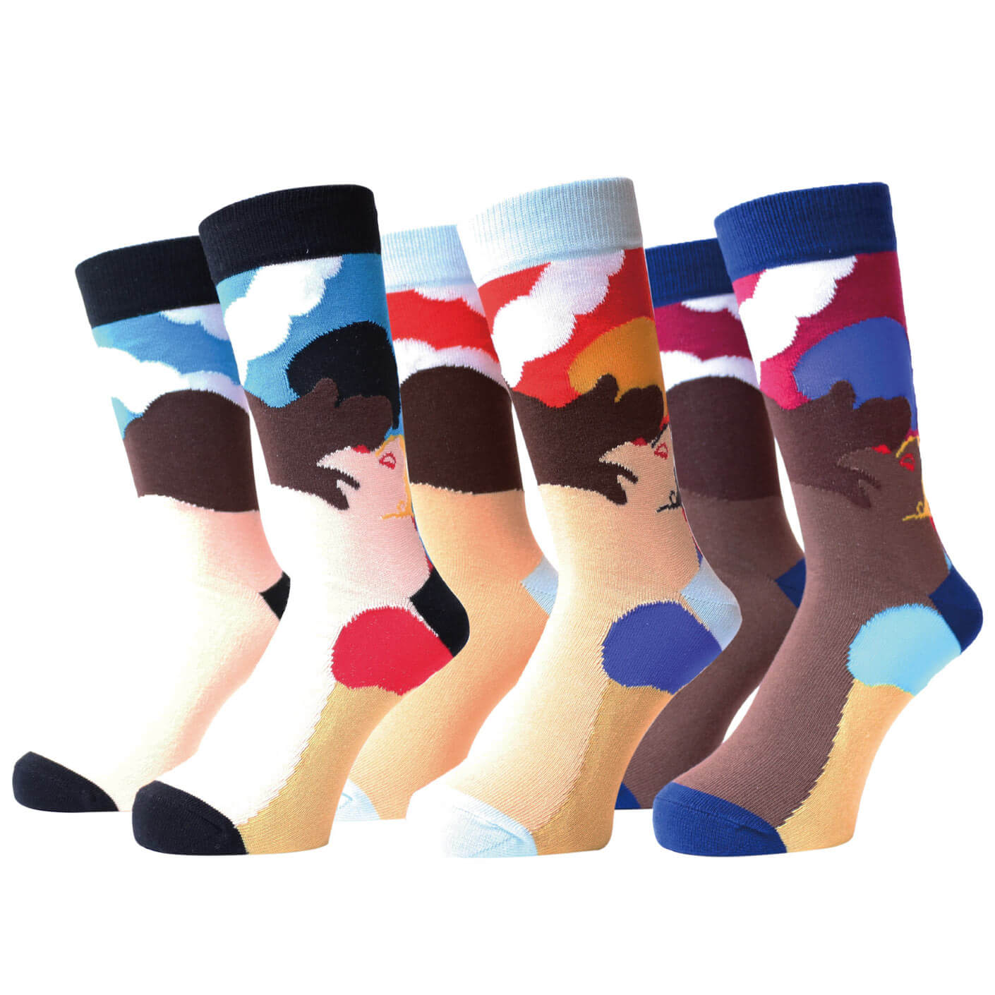AFTERNOON DELIGHT SOCKS