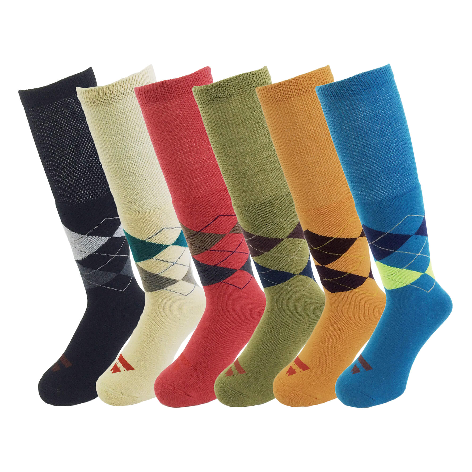 10/1 TUBE ARGYLE SOCKS
