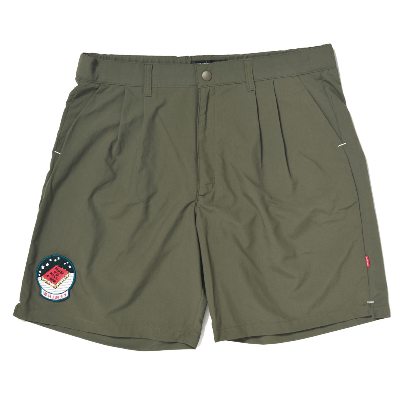 NYLON RIPSTOP BOARD SHORT