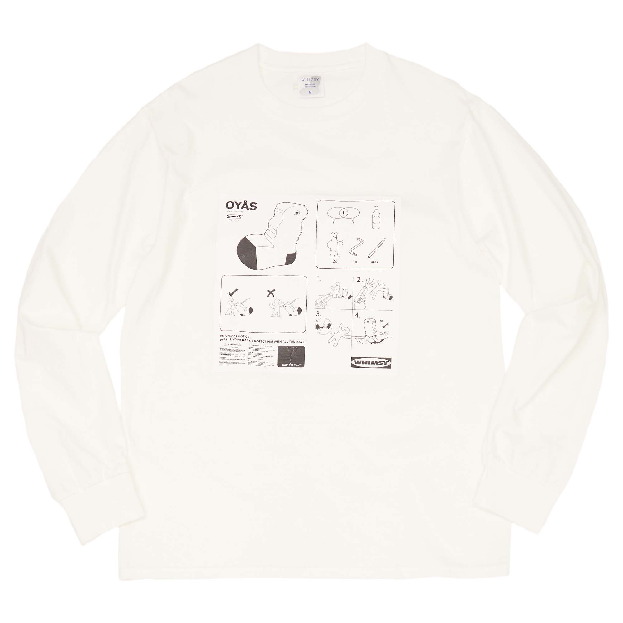 OYAS LONG SLEEVE TEE